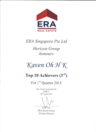best real estate agent singapore kaven oh