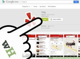 Home Design App For Android How To Get The Yelp App For Android 5 Steps With Pictures