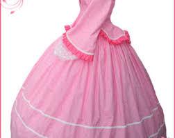 pink victorian dress etsy