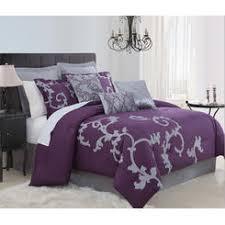 Purple Velvet Comforter Sets Queen Kinglinen Comforters Sears