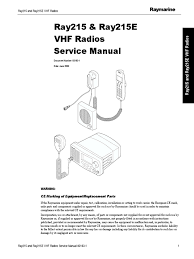 ray215 service pdf detector radio amplifier