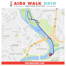 Map Dayton Ohio by 2017 Aids Walk Greater Dayton Equitas Health