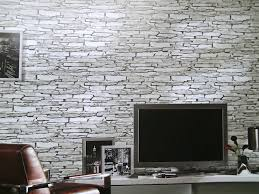 steinwand wohnzimmer beige steintapete braun beige wohnzimmer ruhbaz tapete wohnzimmer