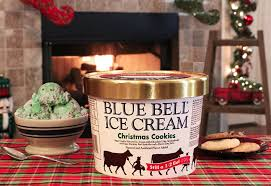 blue bell ice cream announces christmas cookie flavor ice cream