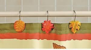 fall shower hooks makeover your bathroom with autumn bathroom