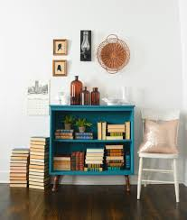 Diy Modern Bookcase Tranquil Bookcase With Velvet Finishes Paint