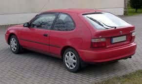wow toyota corolla e100 1 6 si heck 3 door euro automobilia