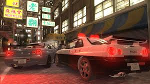 nissan skyline police car gta gaming archive