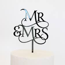 mr and mr cake topper mr and mr cake topper dillon design