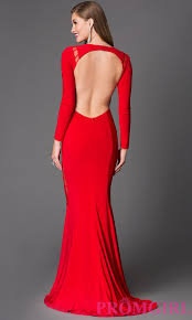 backless dress sleeve backless evening dress promgirl