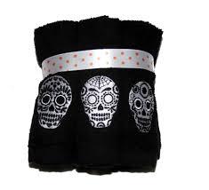 halloween fleece 6 kassa fina colorful embroidered halloween washcloths nwt you