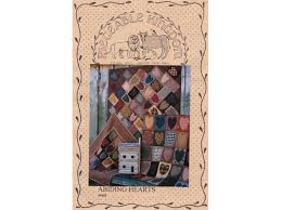 quilt pattern abiding hearts by pieceable kingdom vintage