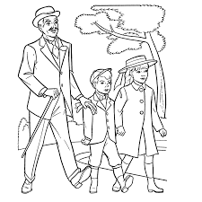 mary poppins coloring pages funycoloring