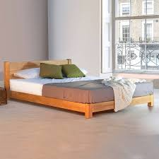 low oriental space saver wooden bed frame by get laid beds