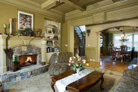 Decorating Living Room With Stone Fireplace Living Room Outstanding Ideas For Family Room Decoration Using
