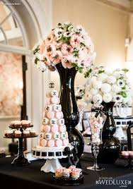themed wedding shower the ultimate chanel themed bridal shower localpartyplanner