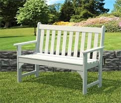 Benches In Park - recycled plastic garden bench