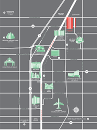 Downtown Las Vegas Map by Location U2013