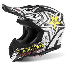 motocross helmets uk airoh aviator 2 2 rockstar 2017 helmets from custom lids uk