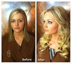curly hair extensions before and after the safest and cheapest hair extension method for and thin