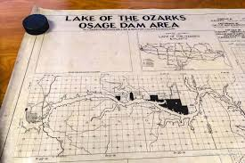 Kansas City Crime Map Lost Map Of Lake Of The Ozarks Is Found In A Strange Twist Of