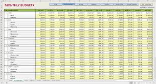 Personal Budget Spreadsheet Free by Printable Monthly Budget Template Monthly Expense Spreadsheet