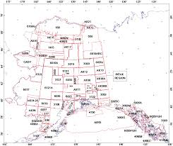 Aleutian Islands Map Alaska Digital Aeromagnetic Database Description
