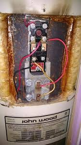 wiring electric water heater installing electric water heater