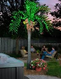 lighted coconut palm tree lighted palm trees led