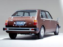 1976 honda civic 4 door cool japanese cars pinterest honda
