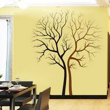 zy8463 lovers tree vinyl wall decals for living room tv background