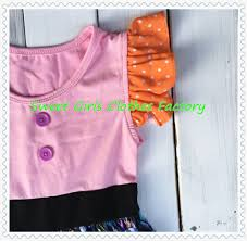 fp 266 new halloween baby wears pink and witch design remake kids