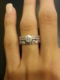 Stacked Wedding Rings by M Is For