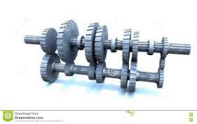 inside of a manual transmission stock illustration image 74438244
