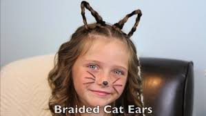 pictures of over the ear hair styles braided cat ears halloween hairstyles cute girls hairstyles