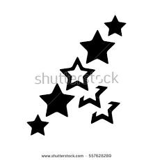 stars star design tattoo stock vector 424374598 shutterstock