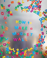 Magnet Wall DIY - Magnetic board for kids room