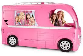amazon com barbie pop up camper vehicle toys u0026 games