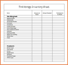 Inventory Checklist Template Excel 3 Food Inventory Spreadsheet Template Excel Spreadsheets
