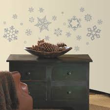Peel And Stick Photo Wall Snowflakes Peel Stick Wall Decals
