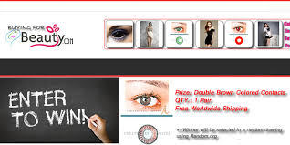 win free pair color contact lenses 201505 halloween colored
