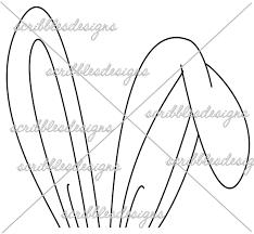 scribbles designs 439 bunny ears 2 00