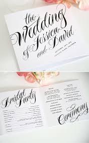 beautiful wedding programs best 25 wedding programs ideas on ceremony programs