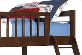 Starship Bunk Bed Set Chocolate Cherry Leons - Leons bunk beds