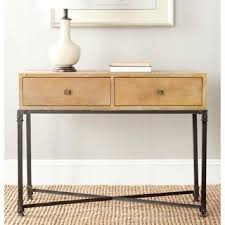 Reclaimed Wood Console Table Safavieh Julian Natural Console Table Overstock Com