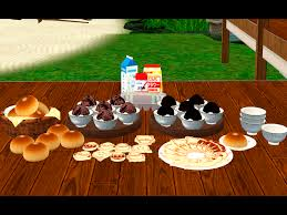 sims 3 cuisine noir and sims conversion decorative japanese food sims 3