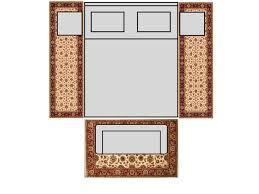 Standard Runner Rug Sizes Bedroom Size Master For King Bed Bedroom Size Master For King