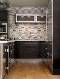 Backsplash For Black Cabinets - backsplashes for kitchen kitchen contemporary with backsplash