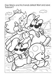super mario bros books coloring
