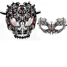 masquerade masks for couples his hers masquerade couples venetian masks